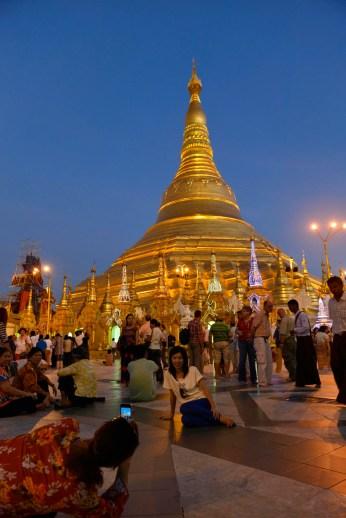 Shwedagon Paya i Yangon