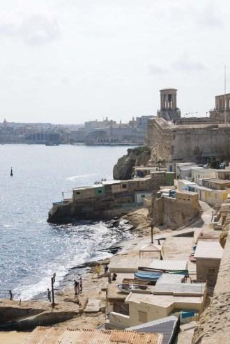 Badeplassen i Valletta