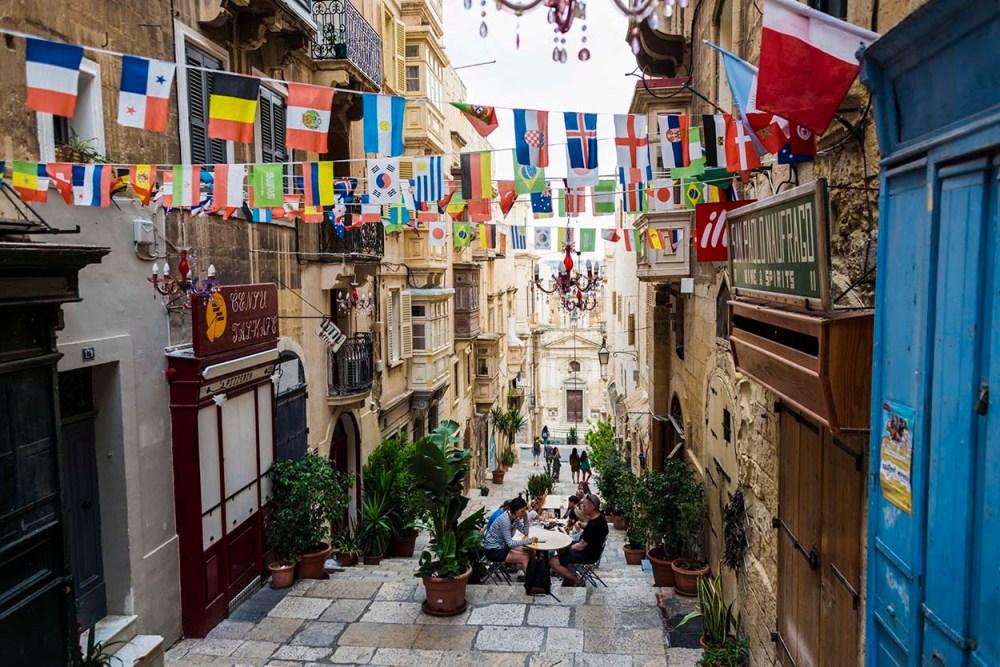 St Lucia Street i Valletta