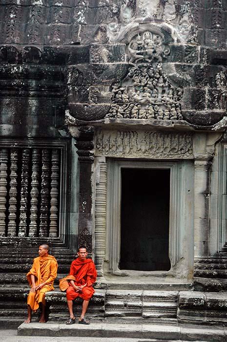 Munker i Angkor Wat