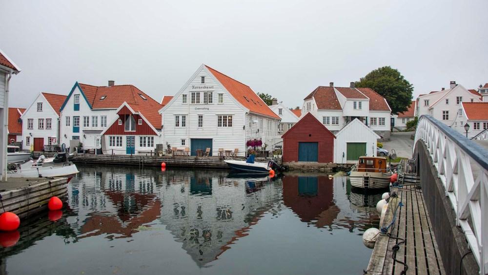 Sjøhus i Skudeneshavn