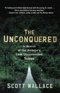 Omslaget til The Unconquered av Scott Wallace