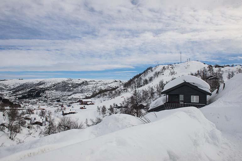 Hytte til leie på Ljosland i Åseral