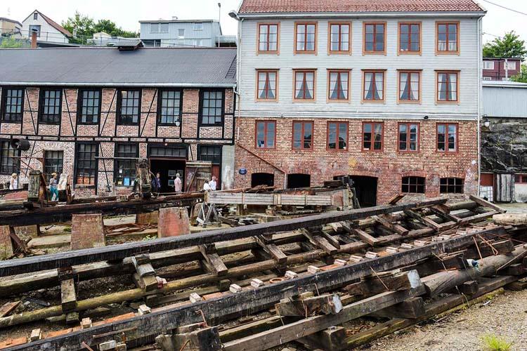 Stabel på Mellemværftet i Kristiansund