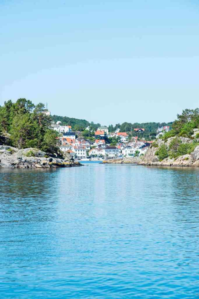 Risør sett gjennom Grunnesund
