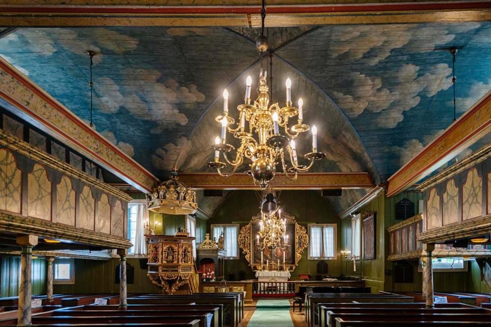 interiør Risør Kirke
