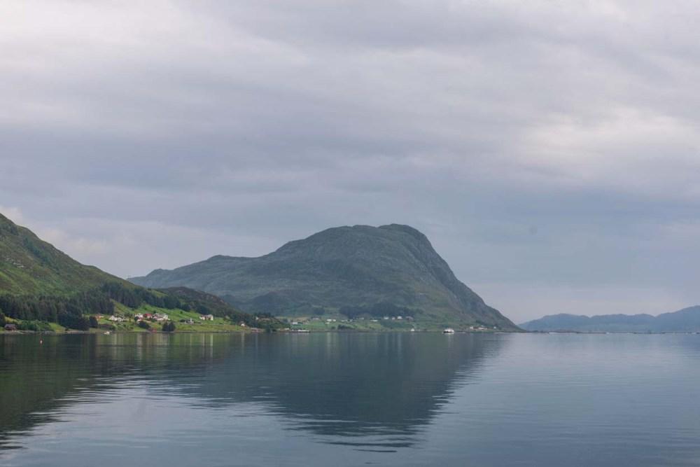 Borgundvåg sett fra Leikanger