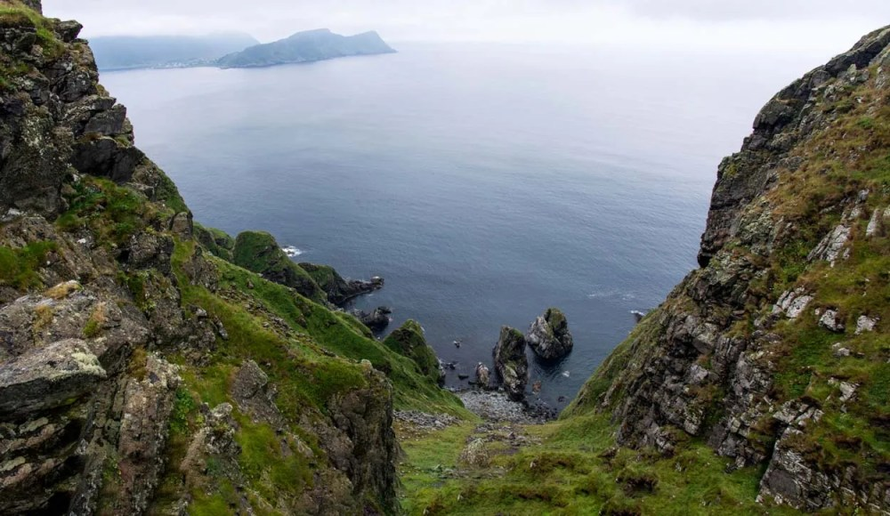 Panorama fuglefjellet Runde