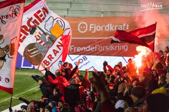 SK Brann goal celebration
