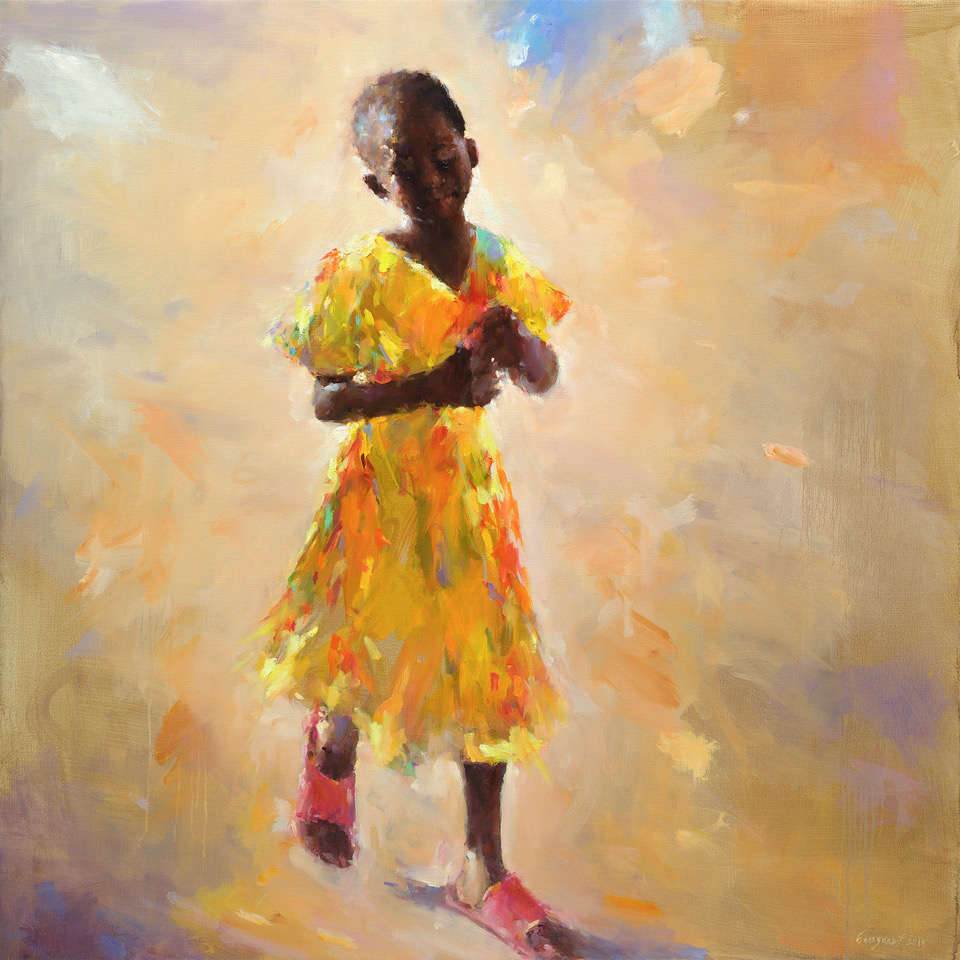 Yellow dress , Cabo Verde