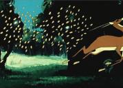 Антилопа выбивает копытом золото