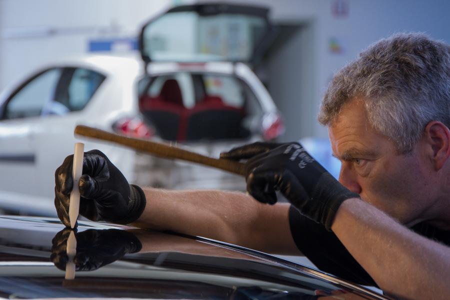 Herstellen BMW met hagelschade