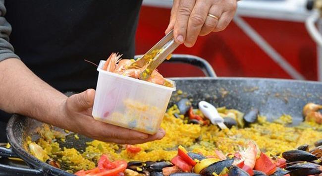 Paella é delícia pra ninguém botar defeito