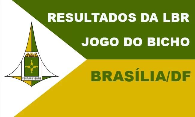 JOGO DO BICHO BRASÍLIA -DF - LBR