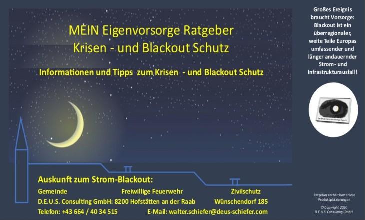 Blackout Ratgeber