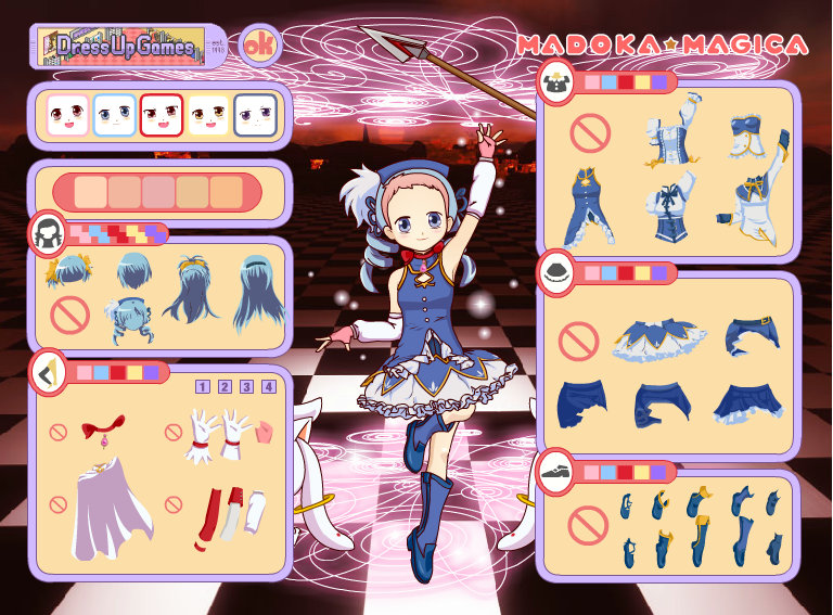 Magical Girl Dress-Up Games | deus ex magical girl
