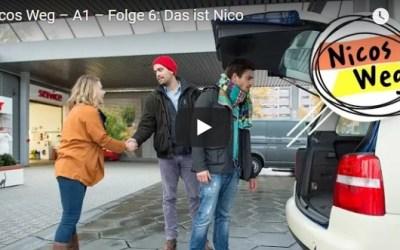 Nicos Weg – A1 – Folge 6: Das ist Nico|تعلم الالمانية صوت وصورة مع سلسلةDW المشهورة الحلقة السادسة