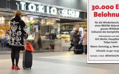 ألمانيا : خمسينية ترصد عشرات الآلاف من اليوروهات مكافأة لمن يجد لها حقيبتها المفقودة !