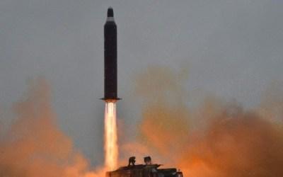 Nord-Korea testet Rakete