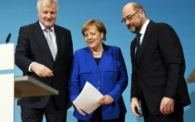 Partei-Chefs für Koalitions-Gespräche