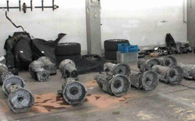 المانيا القبض على عصابة تهريب سيارات مسروقة و بيعها في دولتين عربيتين