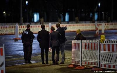 ألمانيا : مجهولون يهاجمون أعضاء من حزب البديل في برلين