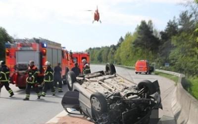 حادث سير في هامبورغ يتسبب بإصابة عدة أشخاص و إغلاق طريق سريع
