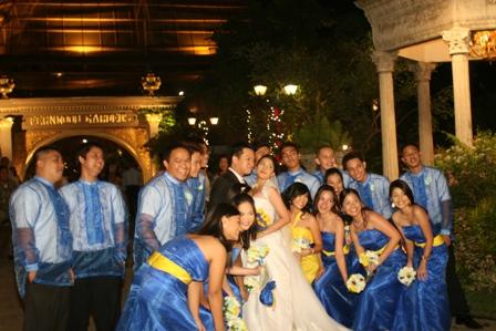Tristan Wedding