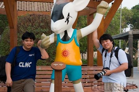 Group Hug at the zoo