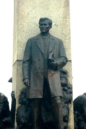 Jose Rizal in Luneta
