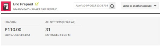 According to My Smart Dashboard, my Smart Bro Flexitime subscription is up -- there's no countdown anymore.