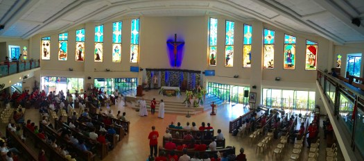 The Alter of St. Therese of the Child Jesus, Lipa, Batangas