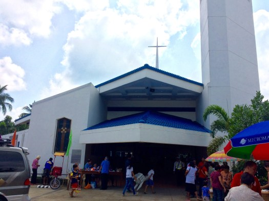 The Facade of St. Therese of the Child Jesus, Lipa, Batangas