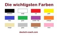 Die Farben - Deutsch-Coach.com
