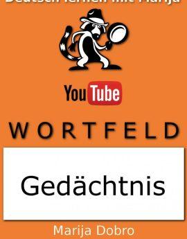 "Wortfeld ""Gedächtnis"" Cover"