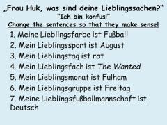 """dtfzgu - Lieblingssachen - """"Ich bin konfus"""""""