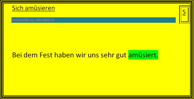 dtfzgu - sich amȕsieren
