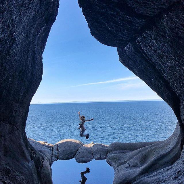 Sie haben das Glück, die schöne Natur Norwegens erleben zu können