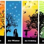 der Herbst, der Winter …