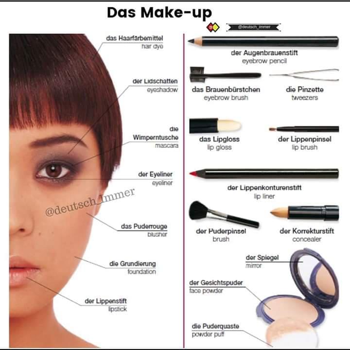 das Make -up