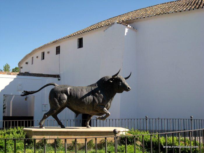 Stierkampfarena in Ronda Andalusien
