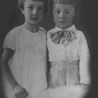 Klara und Artur, Kinder von Wilhelm Rolloff