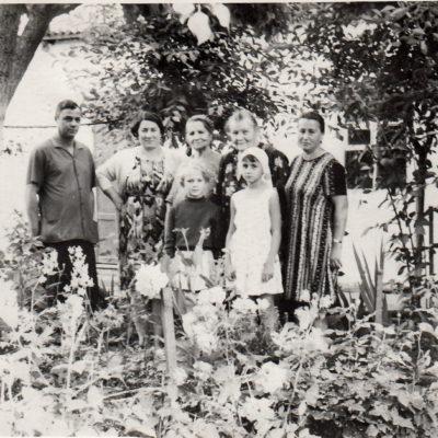 Gertrude, Erna Klara und Siegfried Rolloff