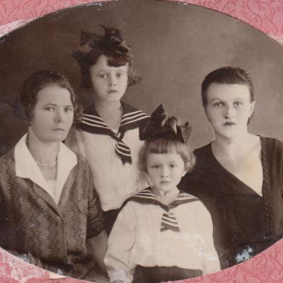 Tamara Rolloff und Kinder