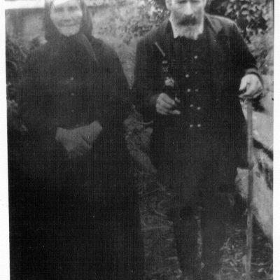 Friederike Vollmer mit Ehemann Johannes Schall