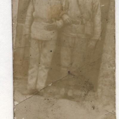 Ernst, Sohn von Gottlob Plieninger als Soldat