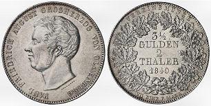3 1/2 Gulden, 2 Thaler, Oldenburg 1840