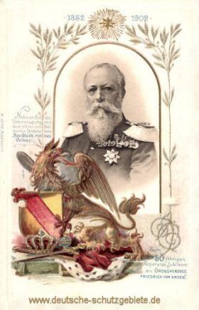 50 jähriges Regierungsjubiläum Großherzog Friedrich I. von Baden 1852-1902