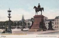 Altona, Kaiser Wilhelm-Denkmal und Bahnhofstraße