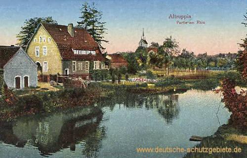 Altruppin, Partie am Rhin